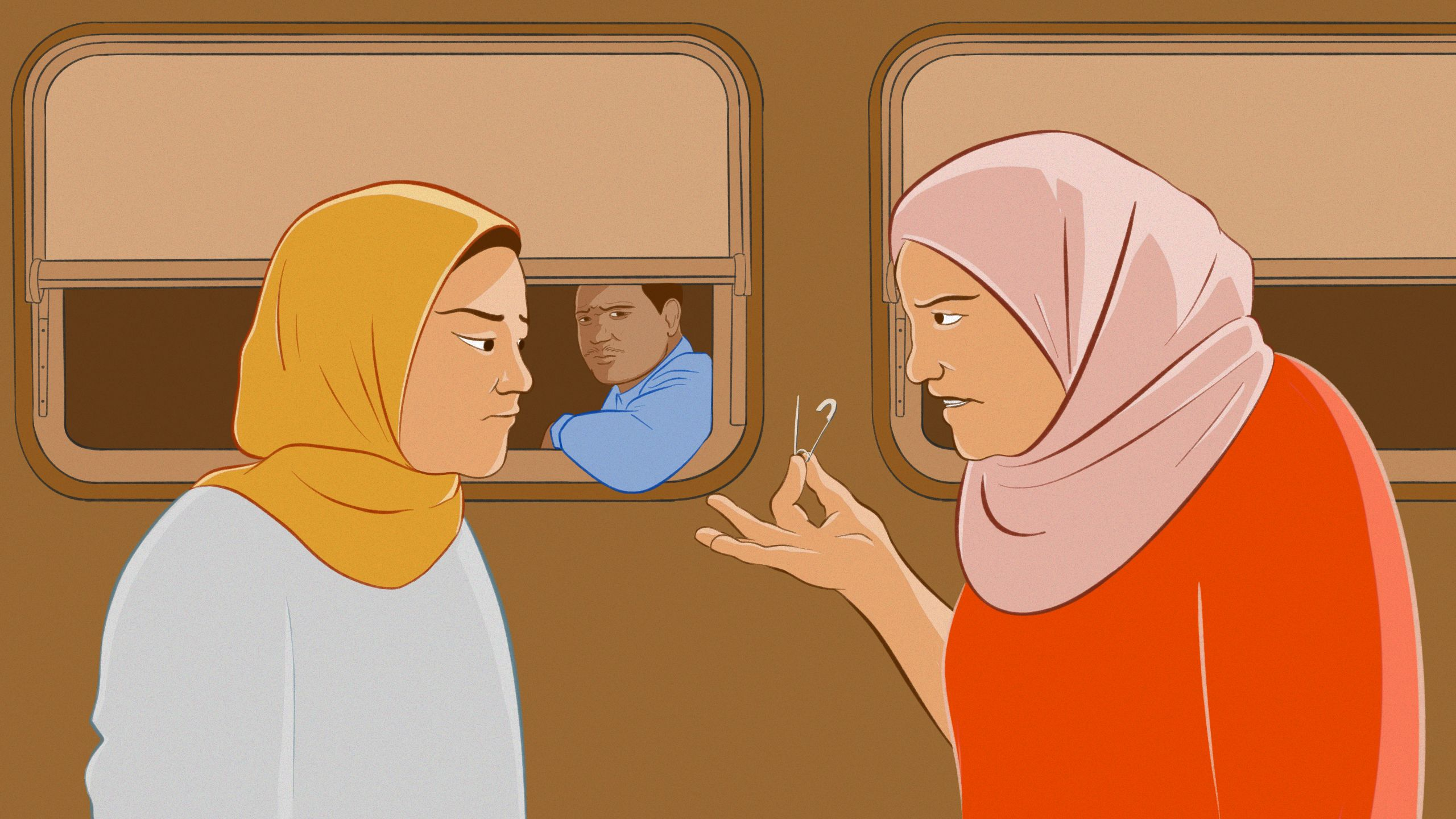 Combatting sexual harassment on public transport in Egypt: Zahara's story